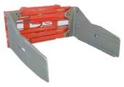 Pince de levage pour balle de celluloce - Châssis en profil aluminium