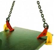 Pince levage de plaque horizontale - Charge maximale utile / pince (kg) : De 500 à 5000