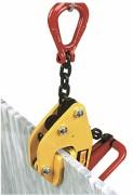 Pince levage tôles et plaques - Charge maximale utile (kg) : 500 - 1500