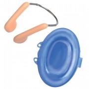 Pince nez de natation - Couleur : chair - Boîte de rangement fournie