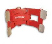 Pince pour bobine de papier - Pince rotative pour le transport d'une bobine en position verticale et horizontale