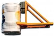 Pince pour fût métallique - Capacité : 2000 Kg - Longueur : 1100 mm