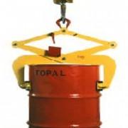 Pince pour levage de fûts acier verticaux - Poids : 24 kg