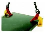 Pince pour levage de plaques horizontales