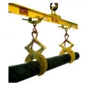 Pince pour ronds et tubes - Charge maximale utile / pince (kg) : 500 - 1000 - 2000 - 3000