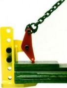 Pince réglable pour levage de plaques horizontales