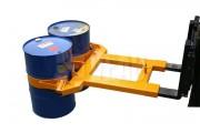 Pinces pour fûts 2000 Kg - Capacité : 2000 Kg - Dimensions : L 1520 x l 1300 x H 200 mm