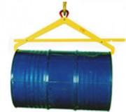 Pinces pour fûts 500 Kg - HF - Pince semi-automatique pour levage de fûts horizontaux