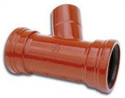 Piquage Mixte TAG 32 à découpe rectangulaire ou circulaire avec étrier de fixation - Raccords TAG 32