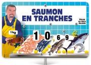 Pique prix poissonnerie - Dimensions  : 12,6 x 8 cm