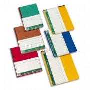 Piqûre trace comptable folioté 19,5x30 cm 80 pages 4 colonnes - Le Dauphin