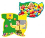 Piscine à balles multi-activités - Dimensions (L x l x h) en cm : 94 x 94 x 94