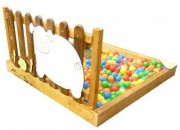 Piscine à balles pour enfants - Nombre de colis : 5