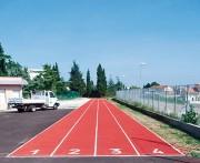 Piste d'athlétisme imperméable - SM Sport Athlétisme Sandwich Réf. SW14 - T14 - D14