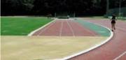 Piste d'athlétisme perméable - Excellent confort pour entraînement et compétitions internationales