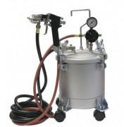 Pistolet à peinture réservoir 10 litres - Outillage pour peintures à base de solvants/à base d'eau