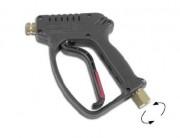 Pistolet de lavage haut de gamme - Pistolet de lavage industriel haute pression – Avec raccord d'entrée tournant