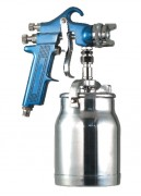 Pistolet de peinture par aspiration - Débit d'air : 280 à 360 l/min sous 3 bar