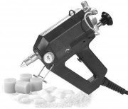 Pistolet électropneumatique pour colles thermofusibles - Débit maximum : 250 ml/min
