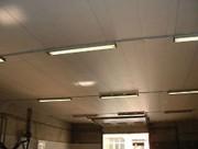 Plafond acoustique - Grammage : 600 g/m² - 10 couleurs - Laize production : 2,70 m