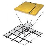Plafond chauffant - Plafond rayonnant modulaire