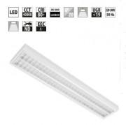 Plafonnier LED à grille anti éblouissement - Luminaire basse luminance UGR<16
