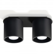 "Plafonnier Orbis 2 SOLLUX - Plafonnier  Orbis 2 SOLLUX est fabriqué par la prestigieuse marque ""SOLLUX Lighting"""