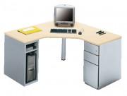 Plan de travail bureau - Dimensions (L x P x Rt): 140 x 140 x 60 cm