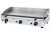 Plancha à gaz en acier - Plaques : épaisseur 15 mm
