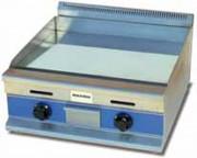 Plancha cuisson à gaz - Épaisseur de la fonte : 20 mm