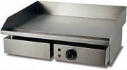 Plancha électrique professionnelle - Dimensions (L x l x h) : de 500 x 415 x 255 à 500 x 730 x 230 mm