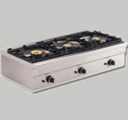 Cuiseur à gaz ou électrique - 1, 2 ou 3 brûleurs