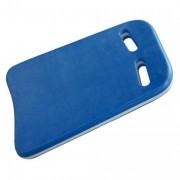 Planche de natation adulte - Planche d'entraînement bleu/blanc en mousse
