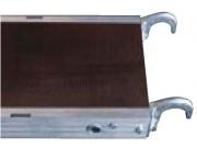 Plancher d'échafaudage à trappe - Aluminium - Alu/bois