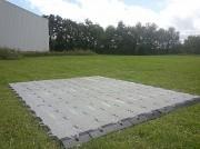 Plancher en PVC - Dimensions : 50 x 50 x 5 cm