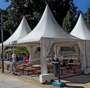 Plancher pour tente de reception - Charge maximale : 450 kg/m²