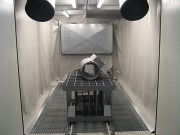 Plancher racleur - Récupération automatique d'abrasif
