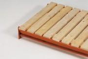 Plancher résineux pour rayonnage - Plancher, ouvert, en résineux, non raboté