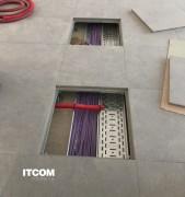 Dalles Plancher sol technique surélevé  - Nous avons une expertise unique dans la fabrication du plancher surélevé et vous propose les meilleures solutions pour toutes les applications dans les locaux professionnels.