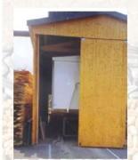 Plancher vibrant pour container - Pentes 6° -