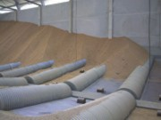 Plancher vibrant pour silo agricole - Débit 500t/h