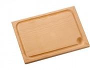 Planches à découpe en bois massif - Dimensions (cm) : de 34 x 22 x 2,5  à 50 x 30 x 2,5