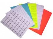 Planches d'étiquettes A4 - A5 - Étiquette industrielle en planche