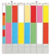 Planning à gouttières de bureau - Dimensions : H 57 x L 52 cm
