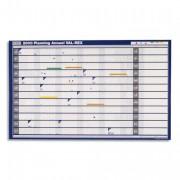 Planning annuel 2010 millésimé souple et effaçable en papier pelliculé CHRONOPLAN 61 x 90 cm - NOBO