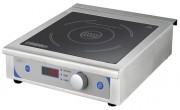 Plaque à induction en inox - Acier inoxydable - Température : 60°C à 240°C