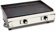 Plaque à rôtir à gaz à poser - Dimensions (L x l x h) : de 520 x 410 x 450 à 520 x 1000 x 450 mm