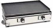 Plaque à rôtir à gaz professionnelle - Dimensions (L x l x h) : de 470 x 400 x 220 à 470 x 1060 x 220 mm