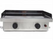 Plaque à snacker à gaz - Surface de cuisson (L x l) : 60 x 40