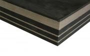 Plaque antivibratoire acier 80 kg/cm2 - Charge maximale : De 10 à 120 Tonnes